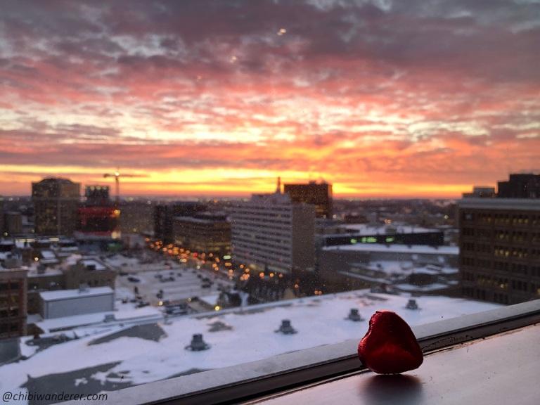Heart of the sunrise