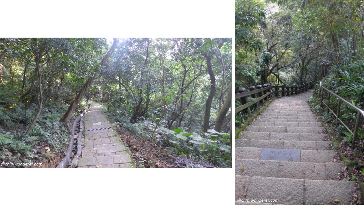 Trails on Elephant Mountain Taipei, Taiwan