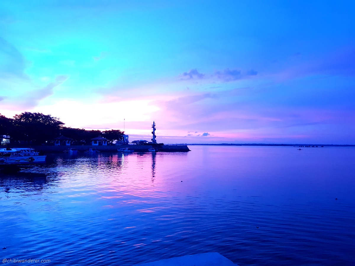 Sunset in Alaminos, Pangasinan Philippines