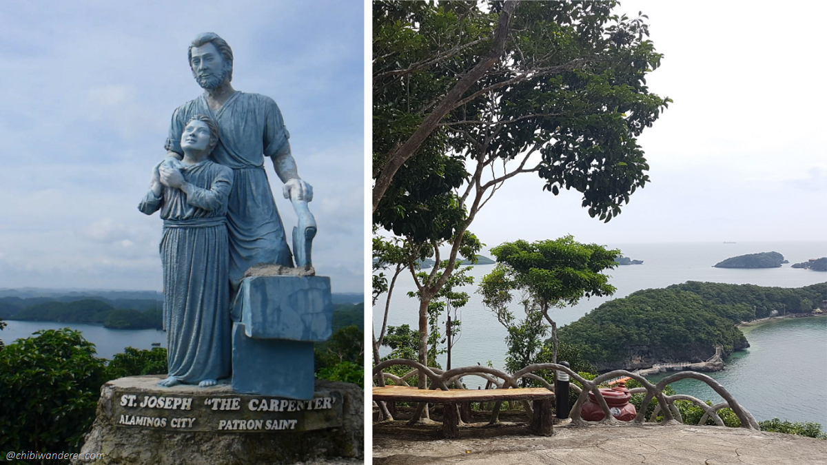 St. Joseph patron saint in hundred island Philippines