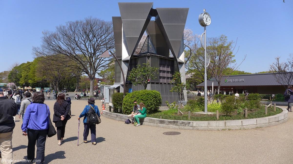 Spring at Ueno Park Japan Entrance