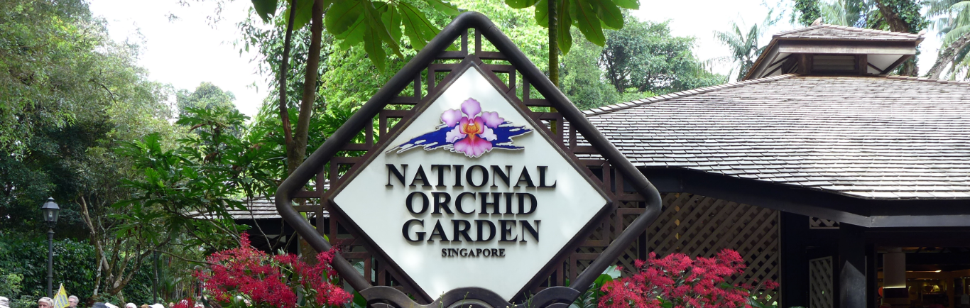 National Orchid Garden Singapore